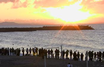 初日の出を見る会2010