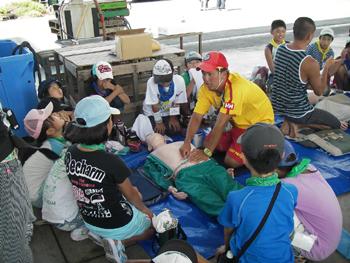 救済会 若者の水難救済ボランティア教室