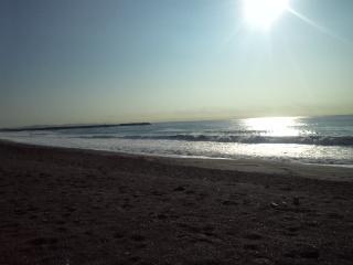波が少しありますが