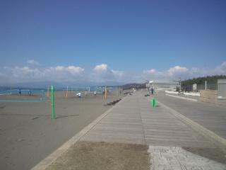 久しぶりにビーチへ行きました~。