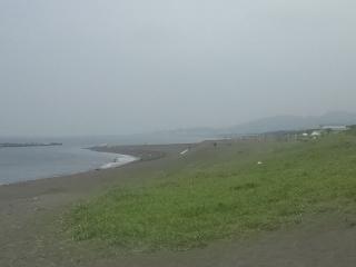 今日からビーチパーク海水浴場が開始