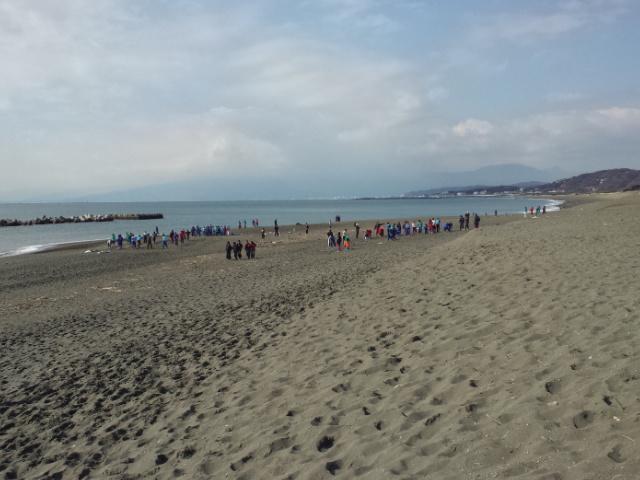 今日のビーチはランナーズビーチ。