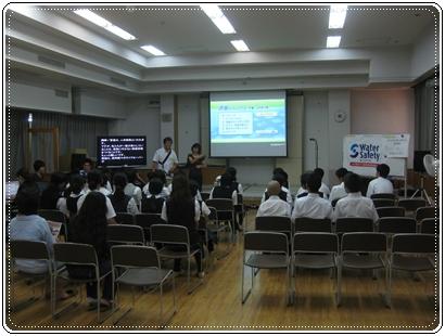 神奈川県連盟 水辺の安全教室を視察しました。