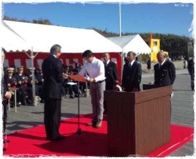 神奈川県救済会勤続10年として、当クラブ員2名が県知事水難救護功労者表彰を受賞(*^_^*)