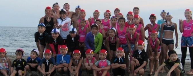 ジュニア活動: 他浜と合同練習を行いました